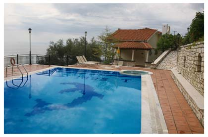 VILLA PANORAMA POOL NISSAKI CORFU GREECE